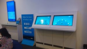 Touch Display at ANZ Raffles Place